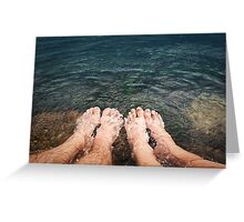refresh together Greeting Card