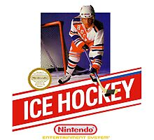 NES Ice Hockey  Photographic Print