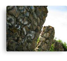 Towering Ruins Canvas Print