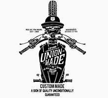 Custom Made, Union Made Motorcycle Unisex T-Shirt