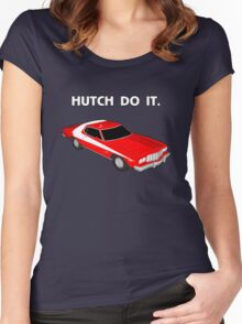 Hutch Do It. Women's Fitted Scoop T-Shirt