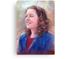 Portrait of Donna Canvas Print