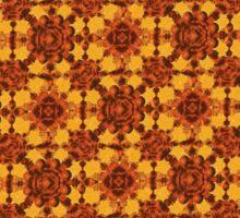 Ornamental Little Flowers Pattern Sticker