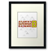 ATL SUPERMAN Framed Print