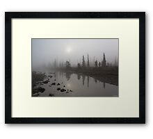 Sunrise Over The Kootenay Plains Framed Print