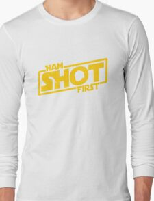 Hamilton Shot First Long Sleeve T-Shirt