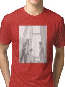 Height Does Matter Tri-blend T-Shirt