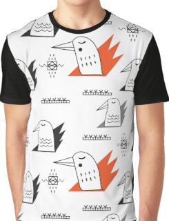 Birds in flames Graphic T-Shirt