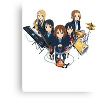 k-on the bands together part 2  Canvas Print