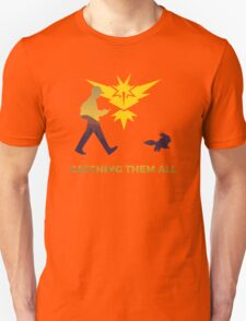 Pokemon Go - Catching Them All Team Instinct Eevee Unisex T-Shirt
