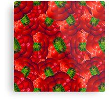 Vegetables pattern composition Metal Print