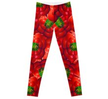Vegetables pattern composition Leggings