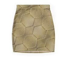 Wrapped Cardboard Texture Mini Skirt