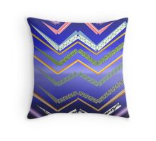 Jagged Lines Throw Pillow