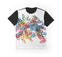 Colourful  paper clips Graphic T-Shirt
