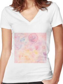 Universe Women's Fitted V-Neck T-Shirt