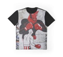 Fight  The Bull Graphic T-Shirt