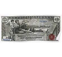 One U.S. Dollar Bill - 1896 Educational Series  Poster