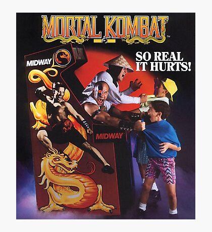 Mortal Kombat So Real It Hurts  Photographic Print