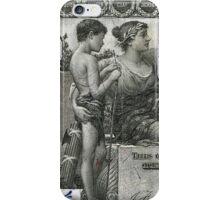 One U.S. Dollar Bill - 1896 Educational Series  iPhone Case/Skin