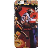 Mortal Kombat So Real It Hurts  iPhone Case/Skin