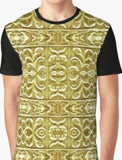Gold Plated Ornament Graphic T-Shirt