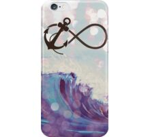 Anchor infinity iPhone Case/Skin