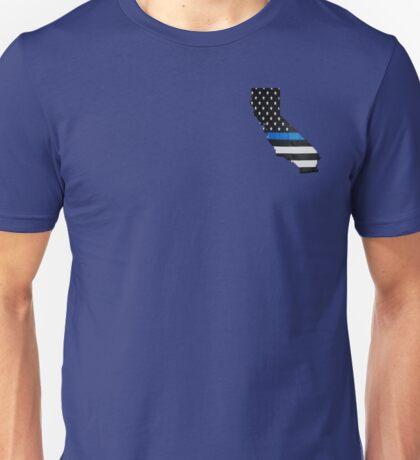 California Thin Blue Line Unisex T-Shirt