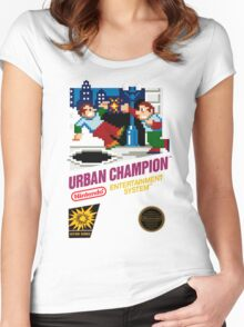NES Urban Champion  Women's Fitted Scoop T-Shirt