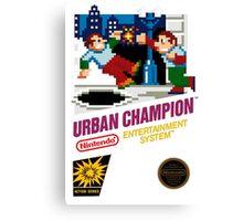 NES Urban Champion  Canvas Print