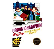 NES Urban Champion  Photographic Print