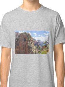 Hike up to Angels Landing Classic T-Shirt