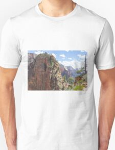 Hike up to Angels Landing Unisex T-Shirt