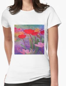 Life is full of Beauty. Notice it. Womens Fitted T-Shirt