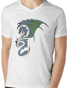 Reign of Heavens - Azure Rathalos Mens V-Neck T-Shirt