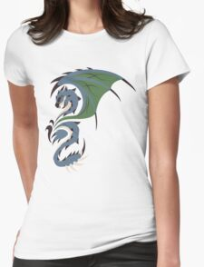 Reign of Heavens - Azure Rathalos Womens Fitted T-Shirt