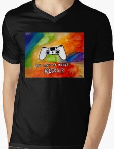 Is Any Of This Real? Mens V-Neck T-Shirt