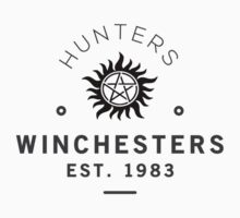 The Winchesters Vintage Logo 6 by hahahahaleigh