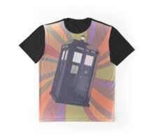 Tardis in the Time Vortex Graphic T-Shirt