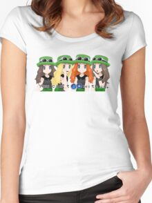 On Wednesdays, we use Grass Types. Women's Fitted Scoop T-Shirt
