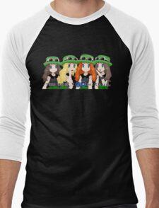 On Wednesdays, we use Grass Types. Men's Baseball ¾ T-Shirt