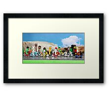 The Other Tour de France Framed Print