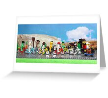 The Other Tour de France Greeting Card