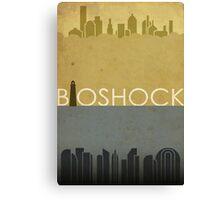 Bioshock Poster Canvas Print
