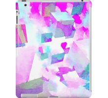 Abstract colorful water color painting iPad Case/Skin
