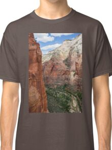 Zion Valley at Zion National Park Classic T-Shirt