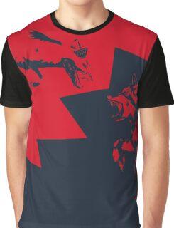 Fox VS Bear Graphic T-Shirt