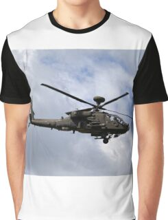 British Army Air Corps Apache AH1 Helicopter Graphic T-Shirt