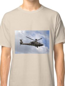 British Army Air Corps WAH-64D Longbow Apache AH1 Helicopter Classic T-Shirt