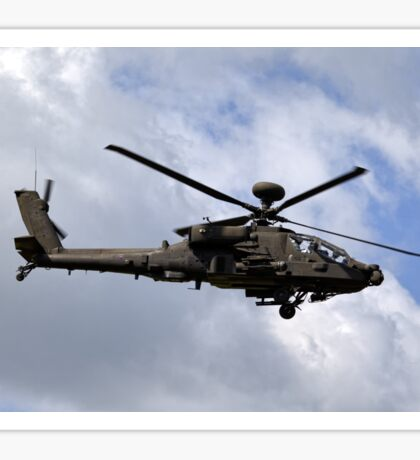 British Army Air Corps Apache AH1 Helicopter Sticker